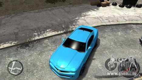 Chevrolet Camaro SS pour GTA 4 Vue arrière de la gauche
