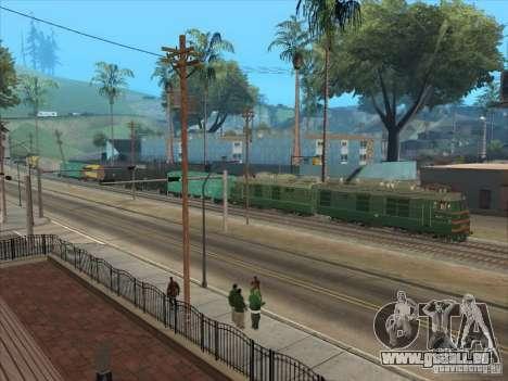 VL80K-548 für GTA San Andreas rechten Ansicht