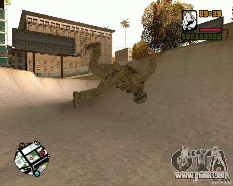 Parkour discipline beta 2 (full update by ACiD) für GTA San Andreas dritten Screenshot