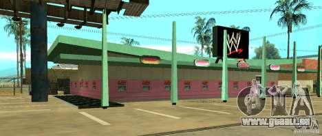 Neue WWE-shop für GTA San Andreas zweiten Screenshot