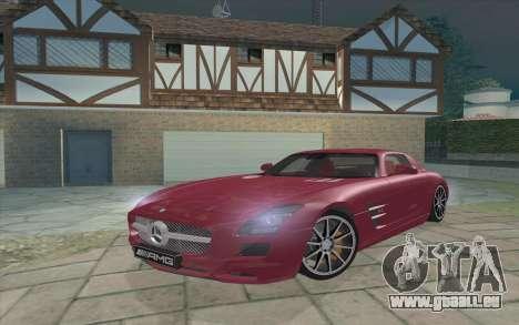 Mercedes-Benz SLS AMG 2011 V3.0 pour GTA San Andreas