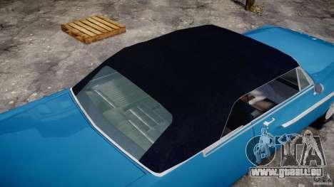 Dodge Dart 440 1962 für GTA 4 Unteransicht