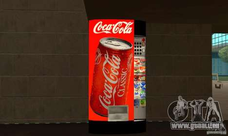 Cola Automat pour GTA San Andreas