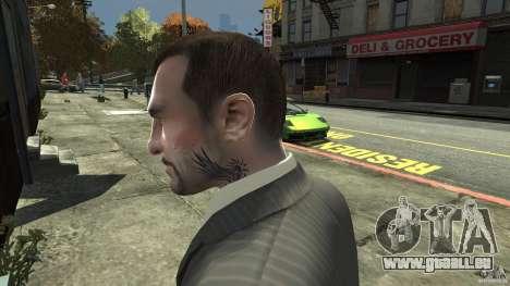 Johnny Klebitz für GTA 4 Sekunden Bildschirm