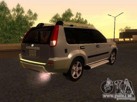 Nissan X-Trail pour GTA San Andreas sur la vue arrière gauche