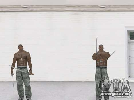 Deux katanas pour GTA San Andreas