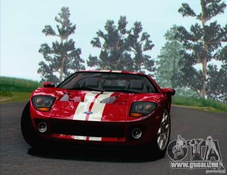 Ford GT 2005 pour GTA San Andreas vue intérieure