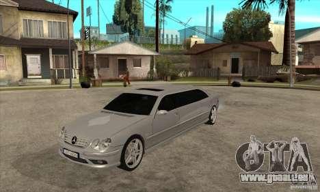 Mercedes-Benz CL65 Limusine pour GTA San Andreas