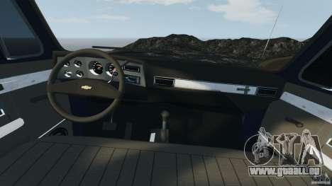 Chevrolet Silverado 1986 pour GTA 4 Vue arrière