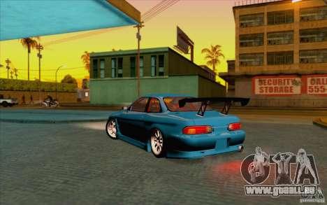 Toyota Soarer (JZZ30) pour GTA San Andreas laissé vue