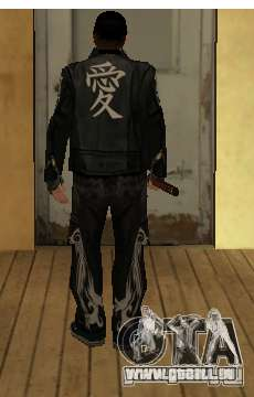 Ersatz skins Yakuza für GTA San Andreas zweiten Screenshot