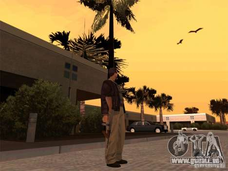 Thompson 1928 für GTA San Andreas dritten Screenshot