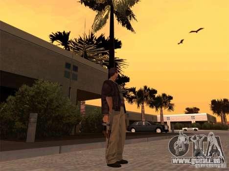 Thompson 1928 für GTA San Andreas dritten Screenshot