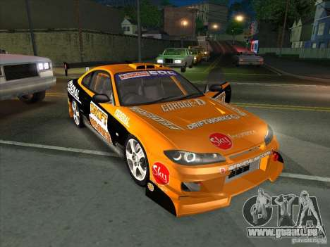 Nissan Silvia S15 Tunable KIT C1 - TOP SECRET pour GTA San Andreas