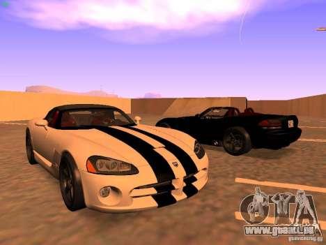 Dodge Viper SRT-10 Roadster pour GTA San Andreas
