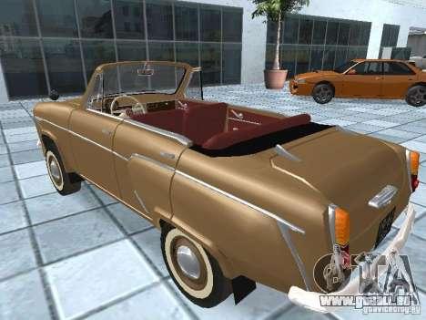 Moskvich 403 Cabrio für GTA San Andreas linke Ansicht