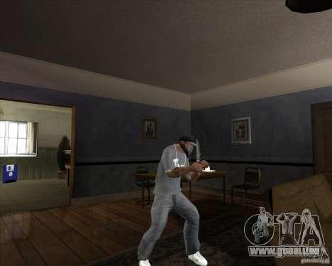 Lame de chasse pour GTA San Andreas troisième écran