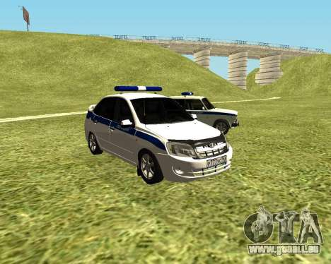 VAZ 2190 Police pour GTA San Andreas
