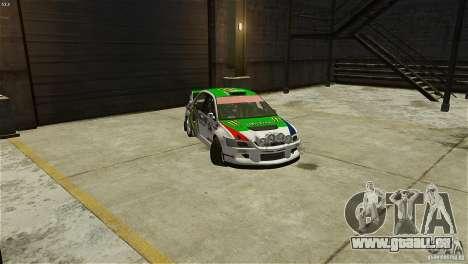 Mitsubishi Lancer Evolution IX RallyCross für GTA 4 rechte Ansicht