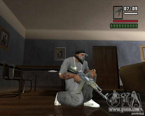 AKM HD für GTA San Andreas