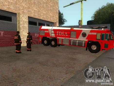 Realistische Feuerwache in SF v2. 0 für GTA San Andreas