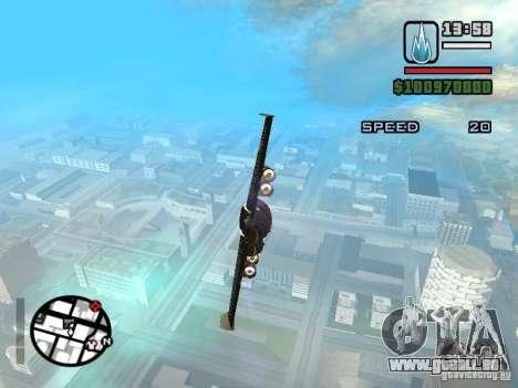 Jetwing Mod für GTA San Andreas zweiten Screenshot