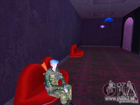Les troupes aéroportées ! pour GTA San Andreas troisième écran