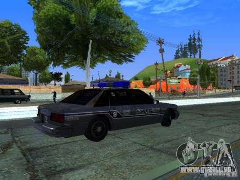 Lumpkin Country Sheriffs Office für GTA San Andreas rechten Ansicht