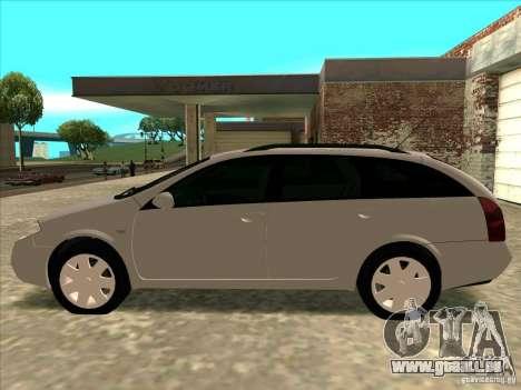 Nissan Primera Wagon pour GTA San Andreas sur la vue arrière gauche
