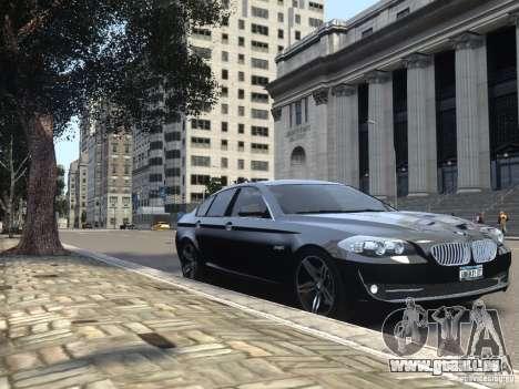 BMW 550i F10 für GTA 4 Seitenansicht