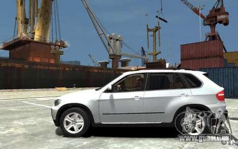 BMW X5 2009 pour GTA 4 est une gauche