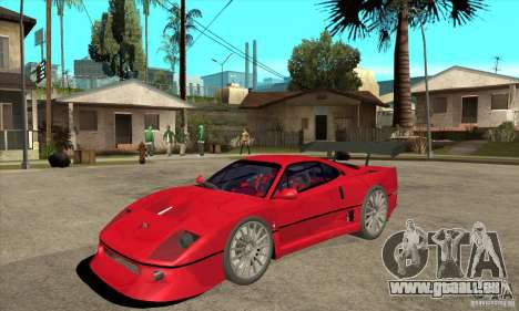 Ferrari F40 2000 Extreme pour GTA San Andreas