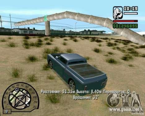 Springt auf der Autobahn in Las Venturase für GTA San Andreas sechsten Screenshot