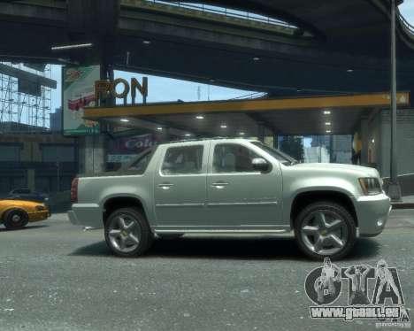 Chevrolet Avalanche Version Pack 1.0 für GTA 4 rechte Ansicht