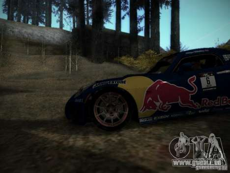 Pontiac Solstice Redbull Drift v2 pour GTA San Andreas vue arrière