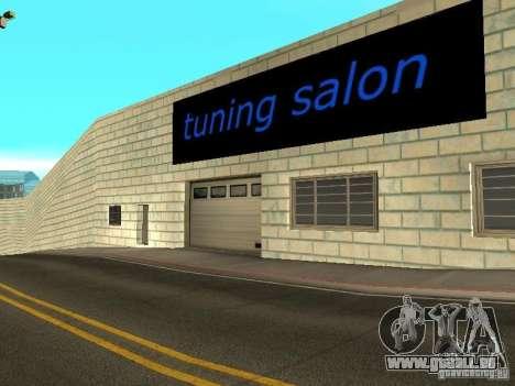 Auto VAZ à San Fierro pour GTA San Andreas quatrième écran