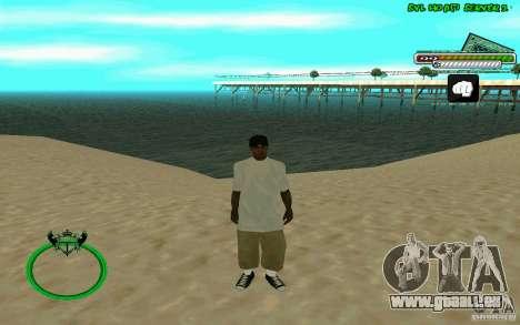Nigga HD skin pour GTA San Andreas troisième écran