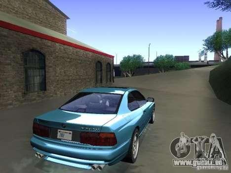BMW 850CSi 1995 pour GTA San Andreas laissé vue