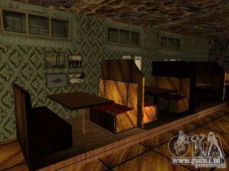 Nouvelle barre de textures UFO pour GTA San Andreas cinquième écran