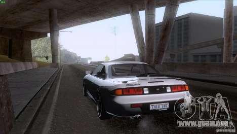 Nissan Silvia S14 Kouki pour GTA San Andreas vue de dessus