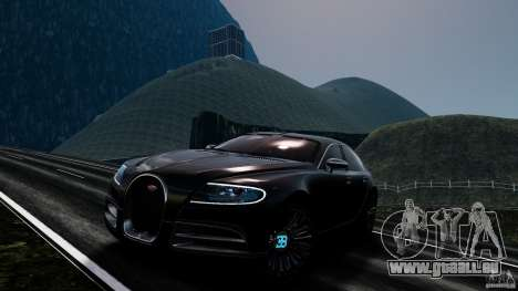 Bugatti Galibier 2009 pour GTA 4 roues
