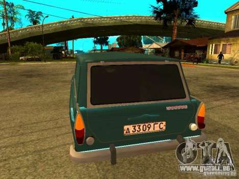 AZLK 2734 pour GTA San Andreas vue de droite