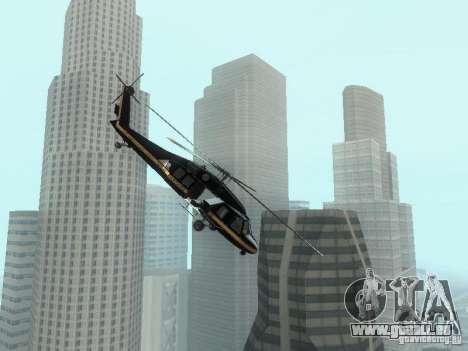 GTA 4 Annihilator entrable pour GTA San Andreas laissé vue