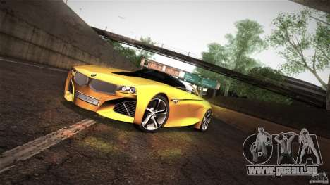 BMW Vision Connected Drive Concept für GTA San Andreas linke Ansicht