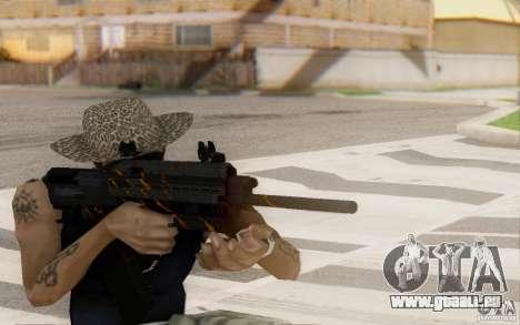 Saiga 12 c von Warface für GTA San Andreas