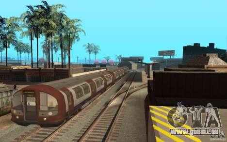 London Metro pour GTA San Andreas laissé vue