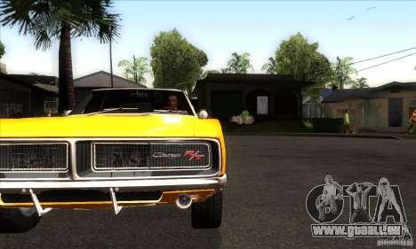 Dodge Charger RT 1969 für GTA San Andreas Innenansicht