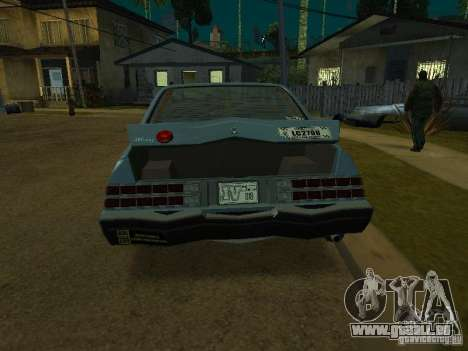 Das Römer-Taxi von GTA4 für GTA San Andreas linke Ansicht