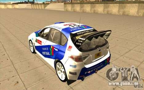 Subaru Impreza WRX STi mit einzigartigen neuen v für GTA San Andreas Räder