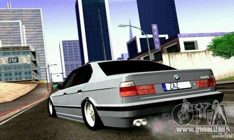 BMW E34 525i für GTA San Andreas linke Ansicht